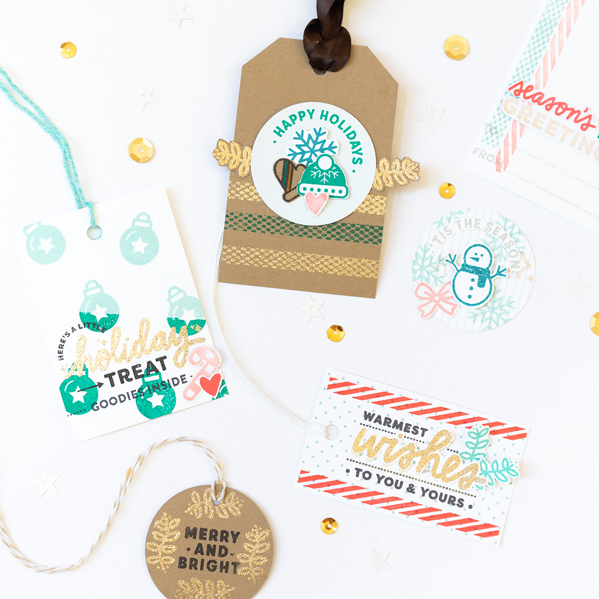Ellen Hutson / Christine Herrin Holiday Tags